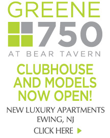 Greene 750 at Bear Tavern - New Luxury Apartments - Clubhouse and Models Now Open!