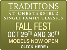 Traditions at Single Family Homes - Fall Fest - October 29th and 30th - Models Now Open