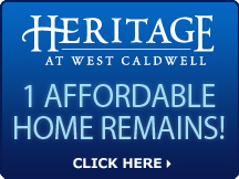West Caldwell - 1 Affordable Home Remains