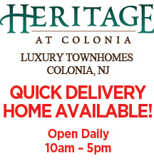 Heritage at Colonia - Quick Delivery home available - Open Daily 10am � 5pm
