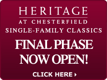 Heritage at Chesterfield - Single Family Classics