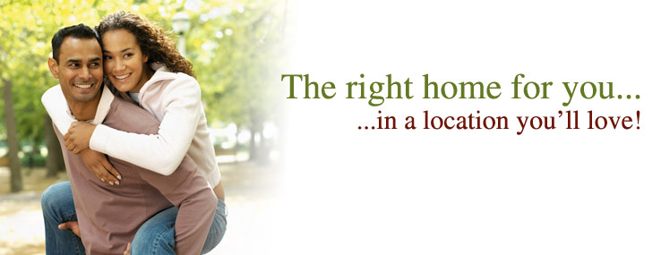 The Right home for you... in a location you'll love!