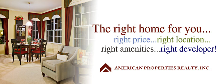 Right home...right price...right location...right amenities...