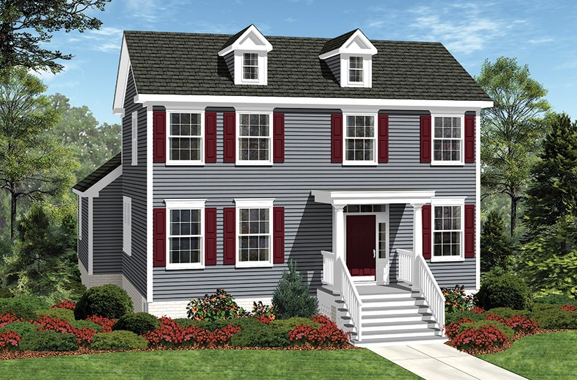 The hampton traditions single family homes american for American family homes