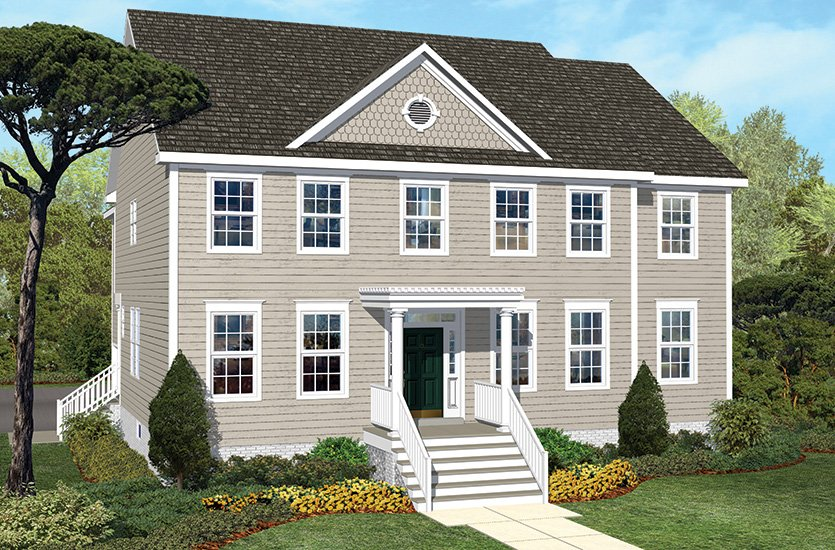 The fredericksburg traditions single family homes for American family homes inc