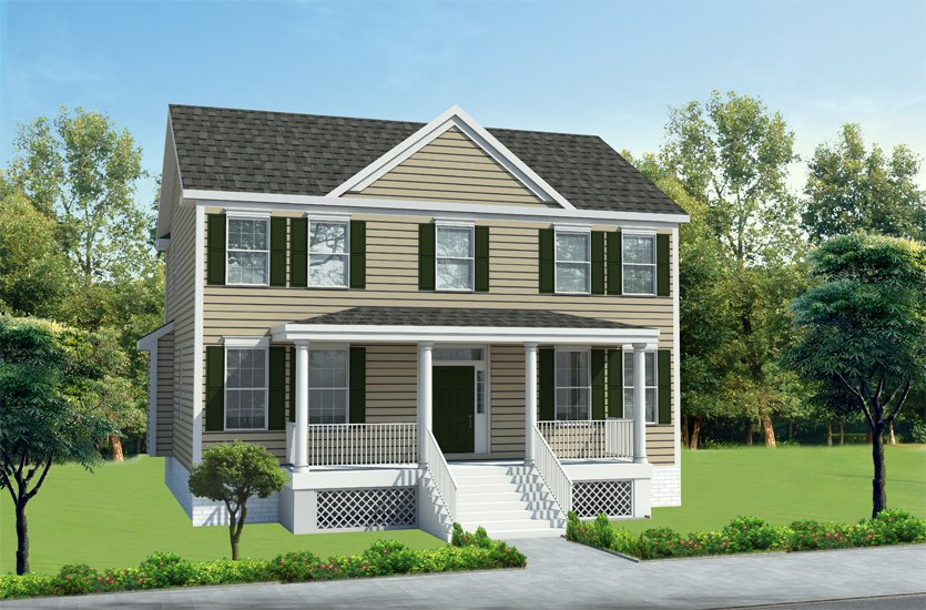 home designs the hopewell - Single Family Home Designs