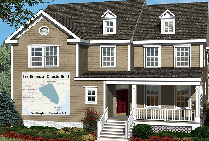 New homes with features in burlington county nj for American family homes inc